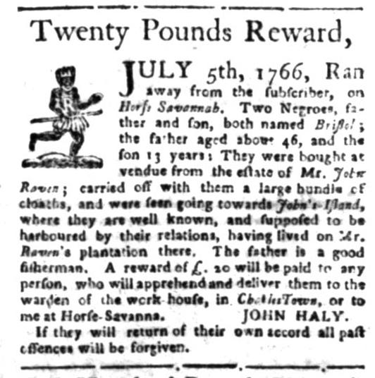 Jun 22 - South Carolina Gazette Slavery 9