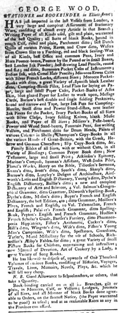 Jun 30 - 6:30:1767 South-Carolina Gazette and Country Journal