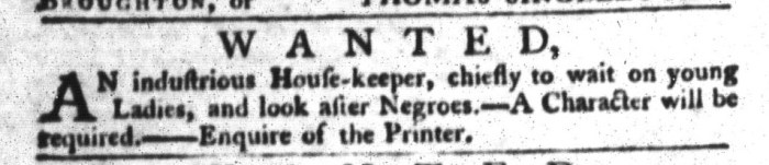 Aug 4 - South-Carolina Gazette and Country Journal Supplement Slavery 3