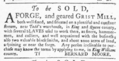 Jul 30 - Virginia Gazette Slavery 8