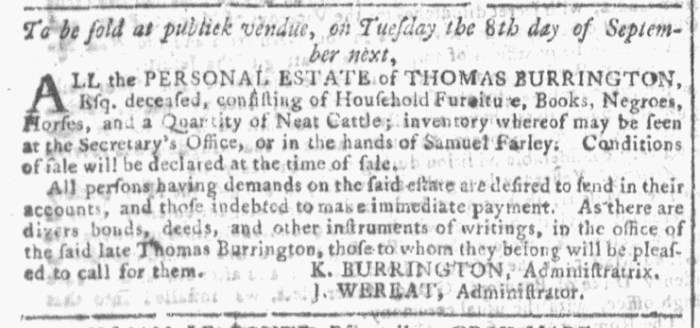 Aug 12 - Georgia Gazette Slavery 5