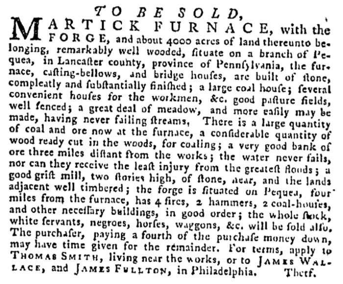 Aug 13 - Pennsylvania Gazette Supplement Slavery 3