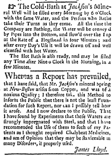 Aug 17 - 8:17:1767 Boston Evening-Post