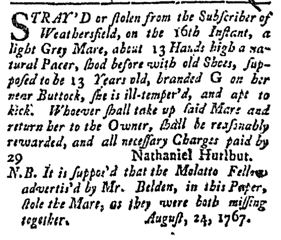 Aug 24 - Connecticut Courant Slavery 2