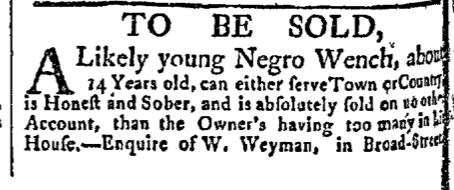 Aug 24 - New-York Gazette Slavery 3