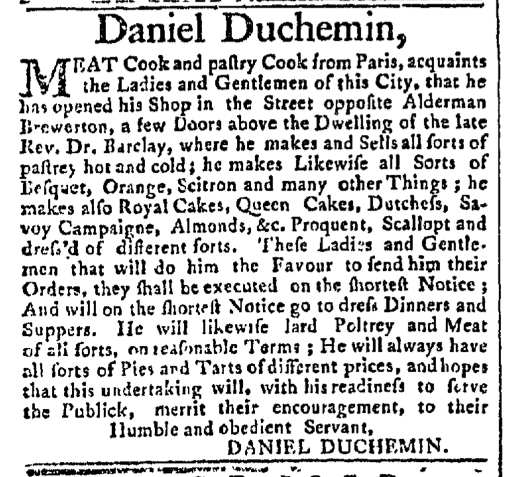 Aug 3 - 8:3:1767 New-York Gazette