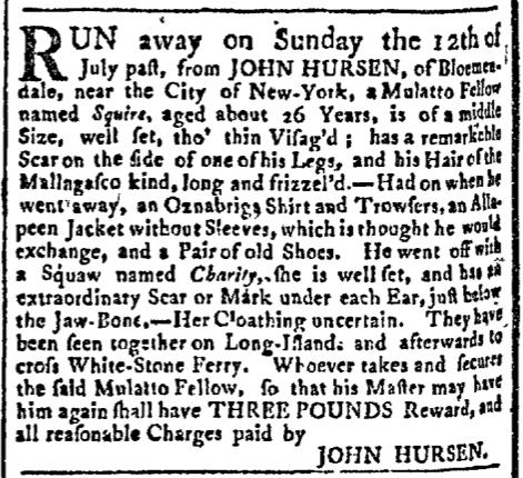 Sep 21 - New-York Gazette Slavery 2