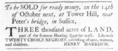 Sep 24 - Virginia Gazette Slavery 2