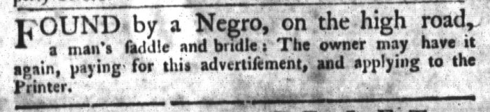 Sep 29 - South-Carolina Gazette and Country Journal Slavery 7