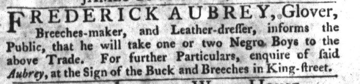 Sep 29 - South-Carolina Gazette and Country Journal Slavery 8