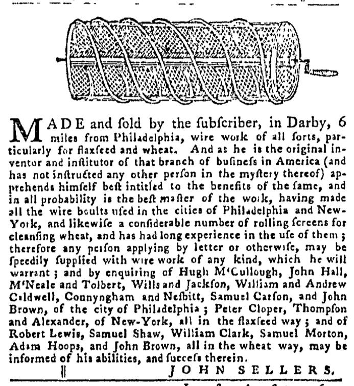 Sep 3 - 9:3:1767 Pennsylvania Gazette