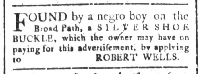 Sep 4 - South-Carolina and American General Gazette Slavery 4