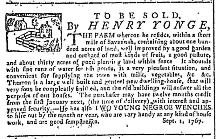 Sep 9 - Georgia Gazette Slavery 5