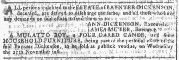 Nov 18 - Georgia Gazette Slavery 4