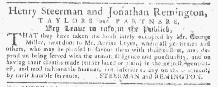 Oct 14 - 10:14:1767 Georgia Gazette