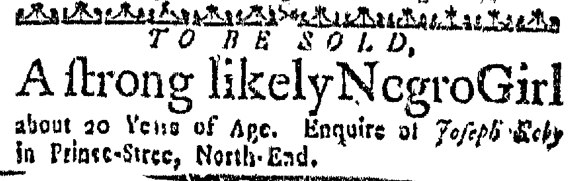 Oct 22 - Massachusetts Gazette Slavery 2