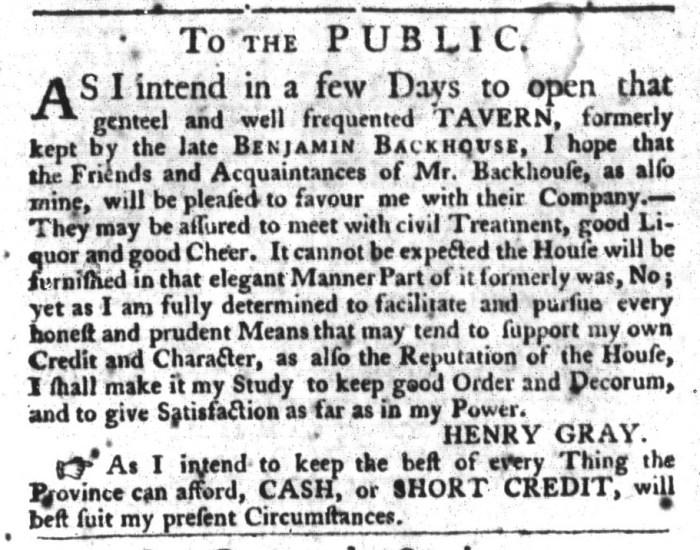 Dec 1 - 12:1:1767 South-Carolina Gazette and Country Journal
