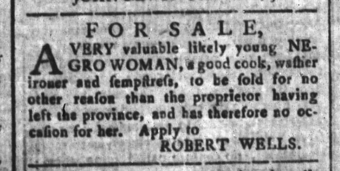 Dec 11 - South-Carolina and American General Gazette Slavery 7