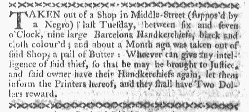 Dec 21 - Boston-Gazette Slavery 1