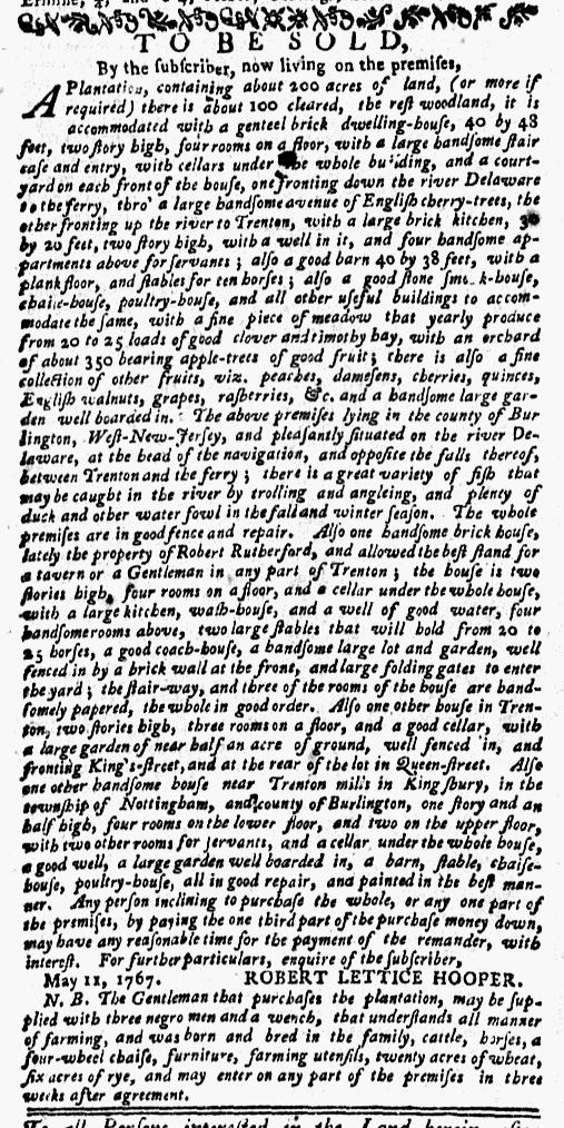 Dec 28 - New-York Mercury Slavery 1