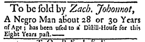 Dec 7 - Boston Evening Post Slavery 2