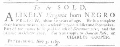 Nov 19 - Virginia Gazette Slavery 5