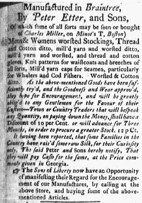 Nov 23 - 11:23:1767 Boston Evening-Post