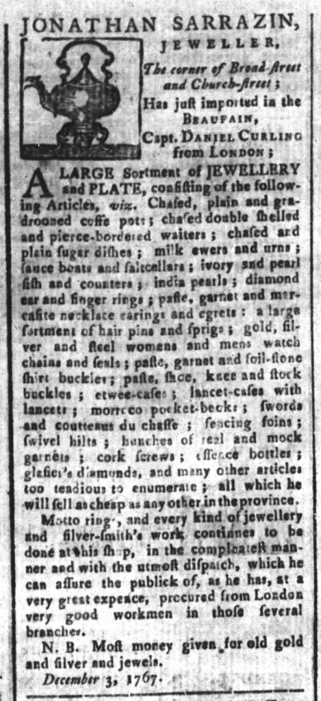 Dec 11 - South-Carolina and American General Gazette