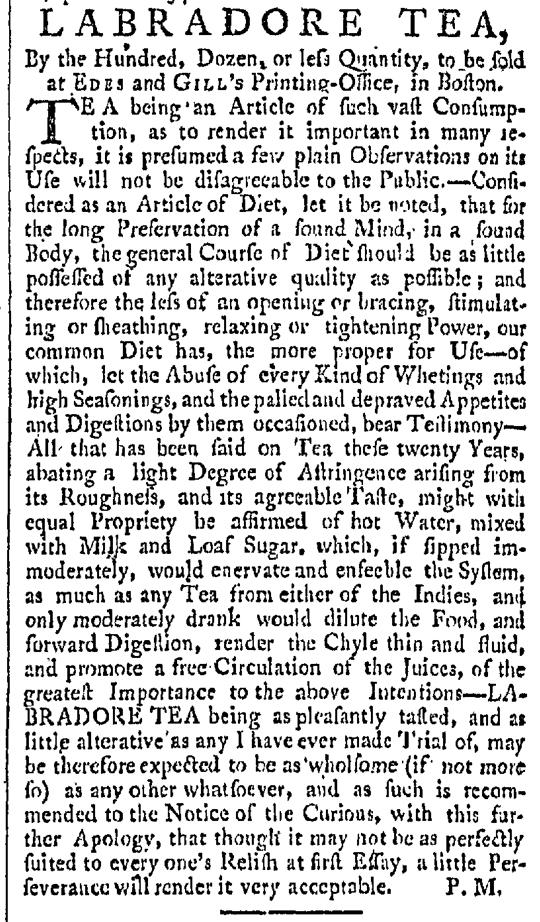 Dec 12 - 12:12:1767 Providence Gazette