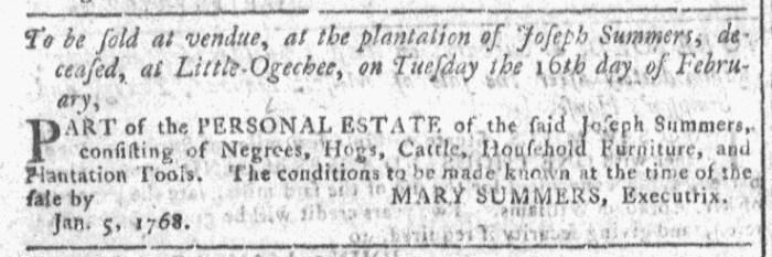 Feb 10 - Georgia Gazette Slavery 4