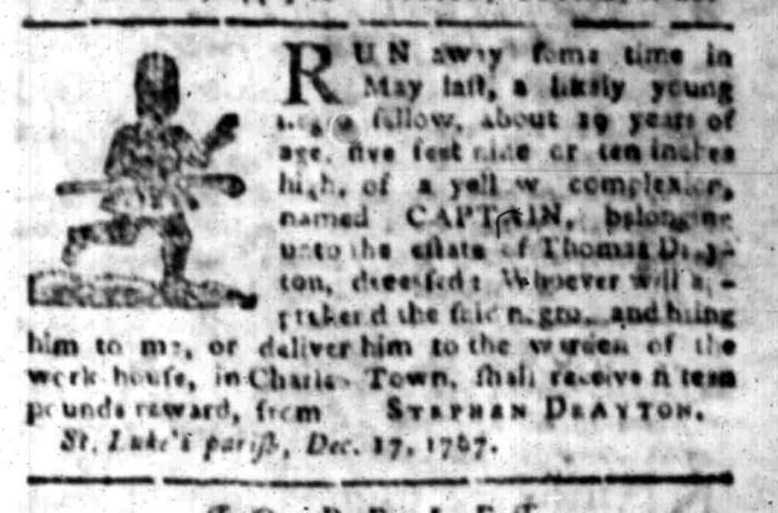Jan 11 - South Carolina Gazette Slavery 3