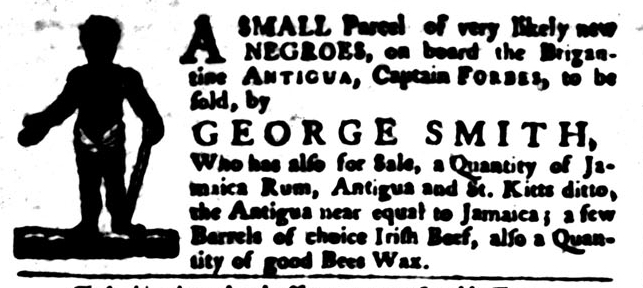 Jan 12 - South-Carolina Gazette and Country Journal Supplement Slavery 3