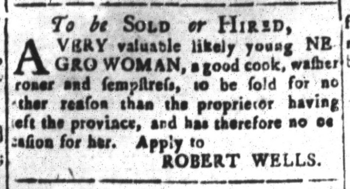 Jan 22 - South-Carolina and American General Gazette Slavery 13