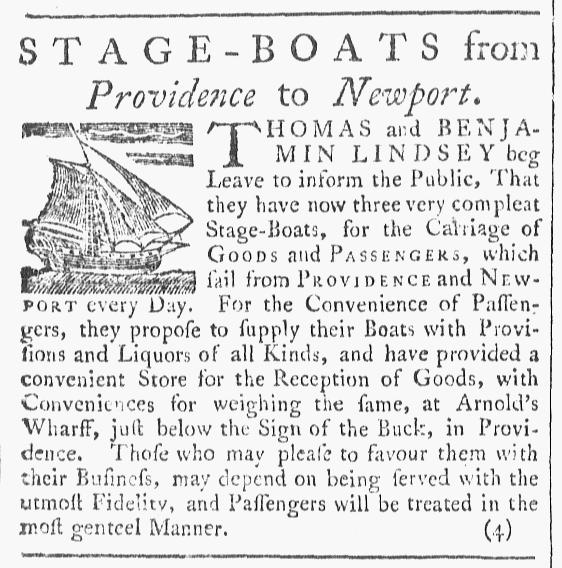 Jan 23 - 1:23:1768 Providence Gazette