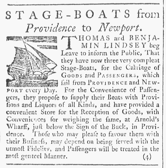 Jan 23 - 1:23:1768 Providence Gazette
