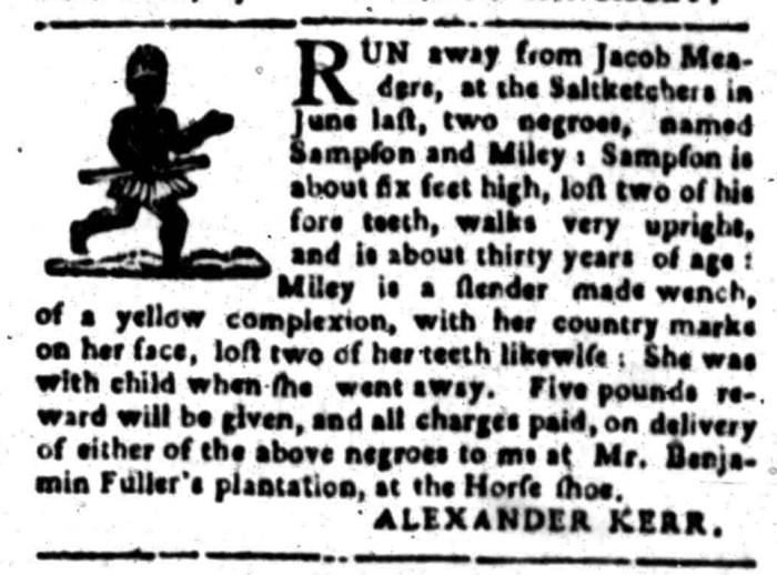 Jan 25 - South Carolina Gazette Slavery 5