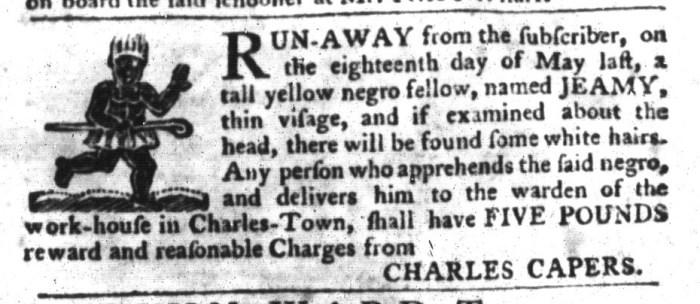 Jan 26 - South-Carolina Gazette and Country Journal Slavery 15