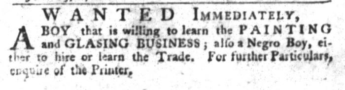 Jan 26 - South-Carolina Gazette and Country Journal Slavery 6