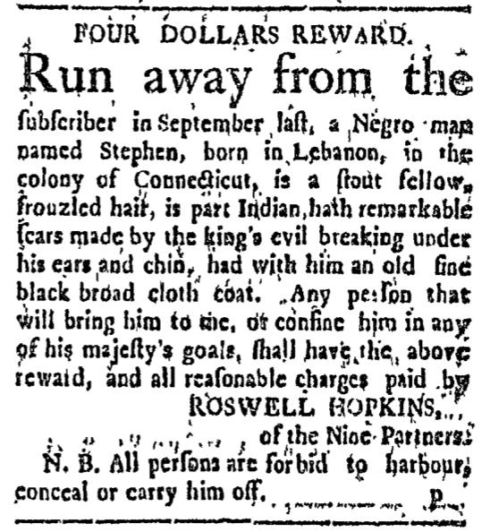 Feb 15 - Connecticut Courant Slavery 1