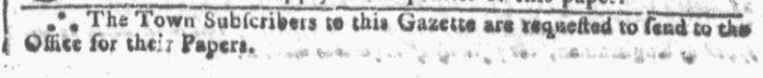 Feb 17 - 2:17:1768 Georgia Gazette