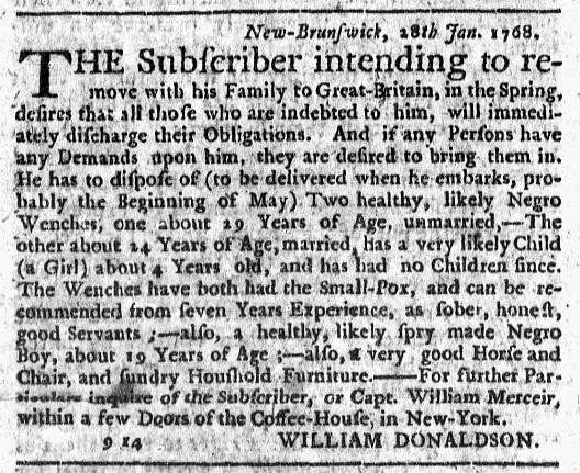 Feb 18 - New-York Journal Supplement Slavery 1