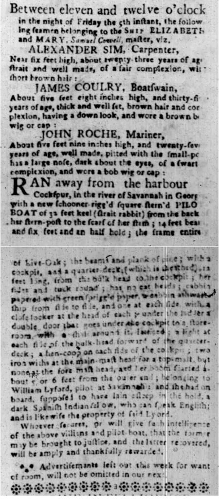 Feb 22 - South Carolina Gazette Slavery 5