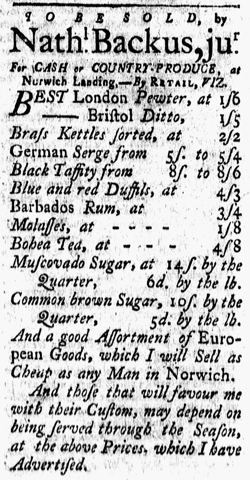 Feb 26 - 2:26:1768 New-London Gazette