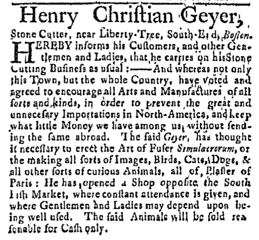 Feb 28 - 2:29:1768 Boston Post-Boy