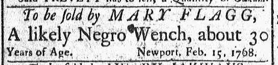 Feb 29 - Newport Mercury Slavery 2