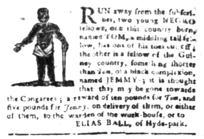 Feb 29 - South Carolina Gazette Slavery 8
