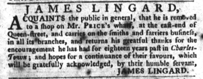 Feb 9 - 2:9:1768 South-Carolina Gazette and Country Journal