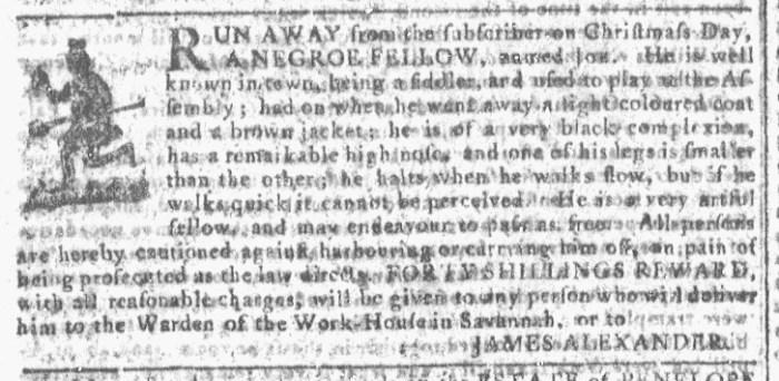 Apr 6 - Georgia Gazette Slavery 4