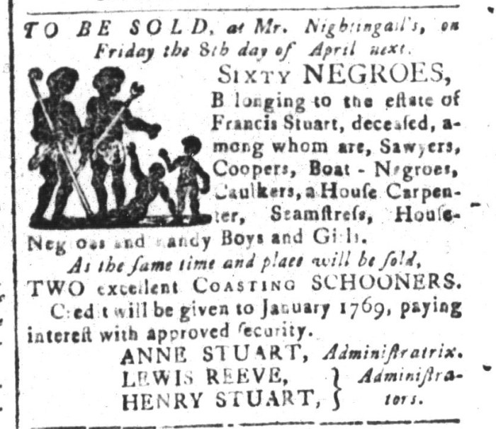 Mar 11 - South-Carolina and American General Gazette Slavery 4