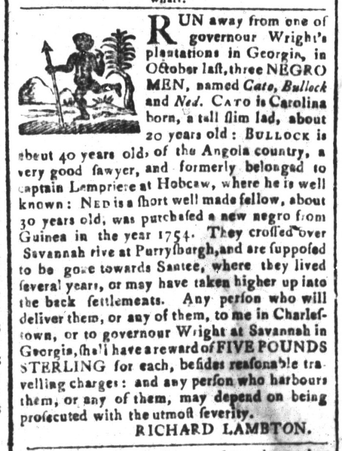 Mar 18 - South-Carolina and American General Gazette Slavery 8